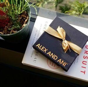 alex and ani • sphinx charm bracelet
